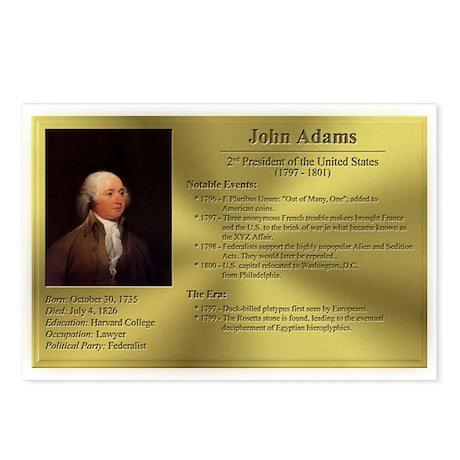 02: John Adams Postcards (8 Pack)