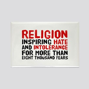 Death by Religion Rectangle Magnet