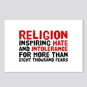 Death by Religion Postcards (Package of 8)