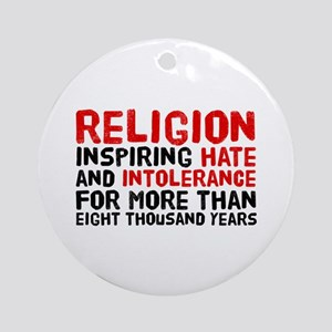 Death by Religion Ornament (Round)