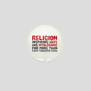 Death by Religion Mini Button