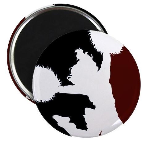 "CHEER *11* {crimson/black/whi 2.25"" Magnet (100 pa"