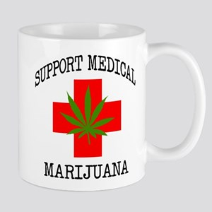 Support Medical Marijuana Mug