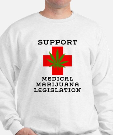 Support Medical Marijuana Legislation Jumper