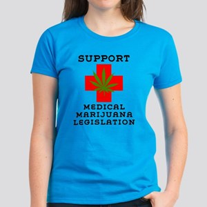 Support Medical Marijuana Legislation Women's Dark