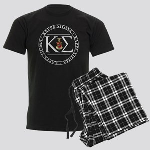 Kappa Sigma Circle Men's Dark Pajamas
