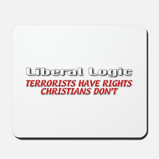 Liberal Logic Mousepad