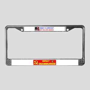 STUPID DEMOCRATS License Plate Frame