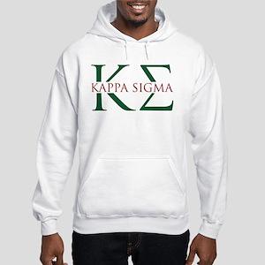 Kappa Sigma Letters Hooded Sweatshirt