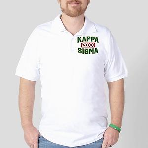 Kappa Sigma Year Personalized Golf Shirt