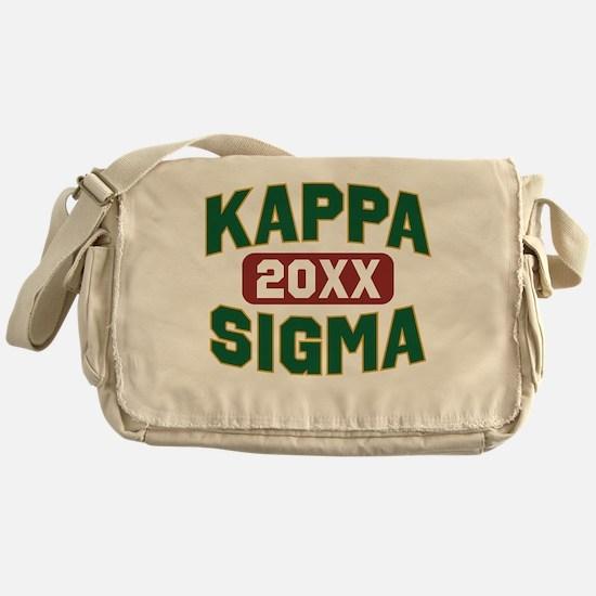 Kappa Sigma Year Personalized Messenger Bag