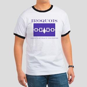 Iroquois Flag Ringer T