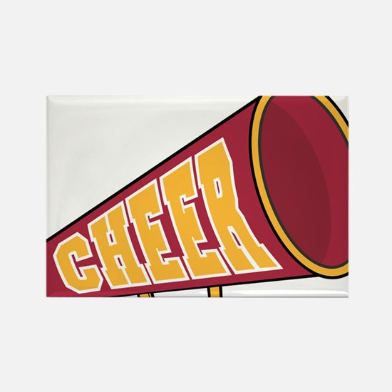MEGAPHONE *1* {red/yellow} Rectangle Magnet