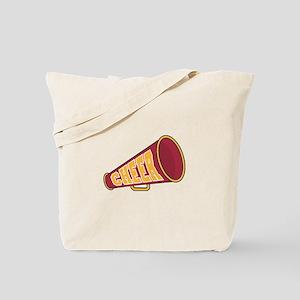 MEGAPHONE *1* {red/yellow} Tote Bag