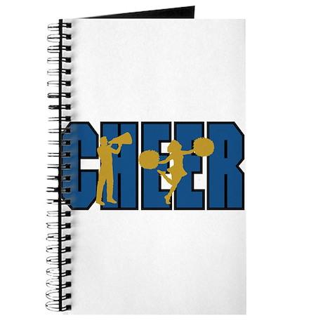 CHEER *15* {blue/gold} Journal