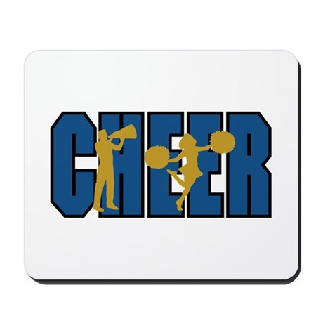 CHEER *15* {blue/gold} Mousepad