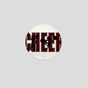 CHEER *15* {crimson} Mini Button