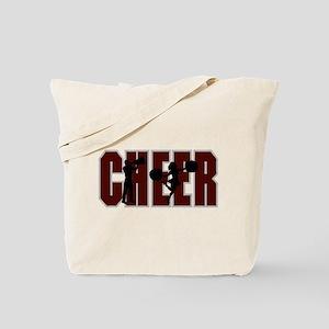 CHEER *15* {crimson} Tote Bag