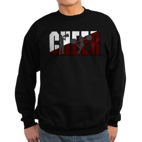 CHEER *16* {crimson/white/gra Sweatshirt (dark)