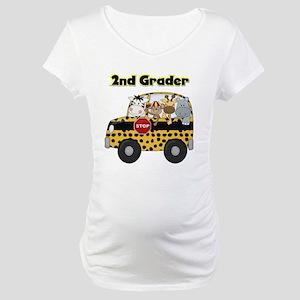 Zoo Animals 2nd Grade Maternity T-Shirt