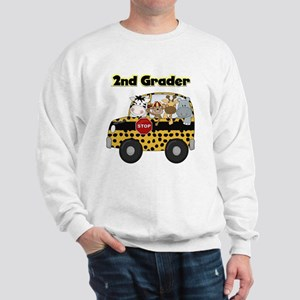 Zoo Animals 2nd Grade Sweatshirt