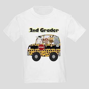 Zoo Animals 2nd Grade Kids Light T-Shirt