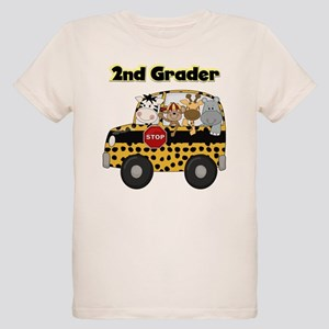 Zoo Animals 2nd Grade Organic Kids T-Shirt