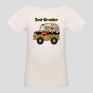 Zoo Animals 2nd Grade Organic Baby T-Shirt