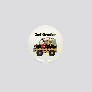Zoo Animals 2nd Grade Mini Button
