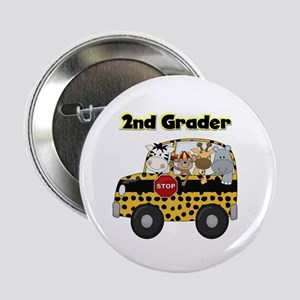 "Zoo Animals 2nd Grade 2.25"" Button"