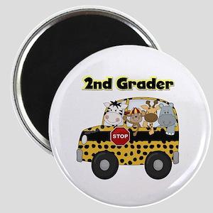 Zoo Animals 2nd Grade Magnet