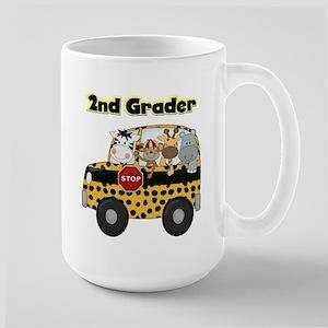 Zoo Animals 2nd Grade Large Mug