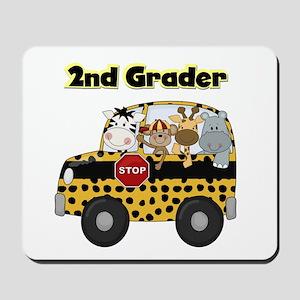 Zoo Animals 2nd Grade Mousepad