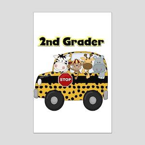 Zoo Animals 2nd Grade Mini Poster Print