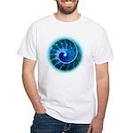 GoldenSpiralCyan2b T-Shirt