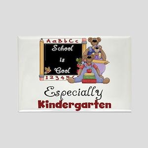 Kindergarten School is Cool Rectangle Magnet