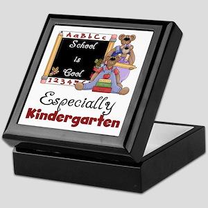 Kindergarten School is Cool Keepsake Box