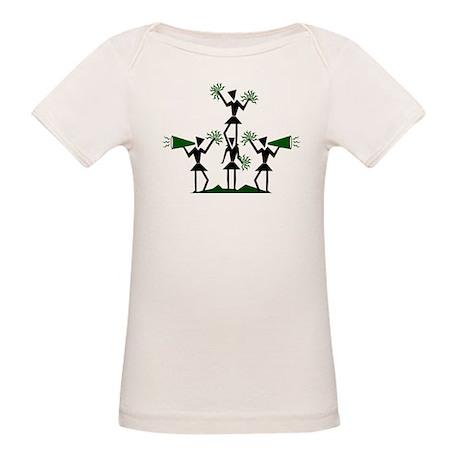 CHEER *29* {green} Organic Baby T-Shirt