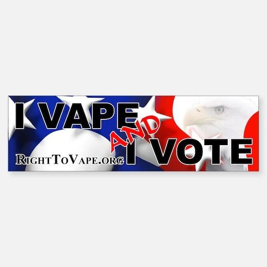 Vote Sticker (Bumper)