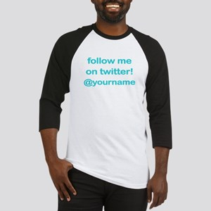 Customized Twitter Baseball Jersey