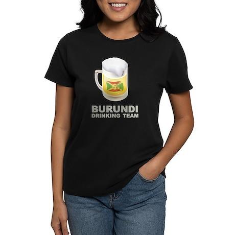 Burundi Drinking Team Women's Dark T-Shirt