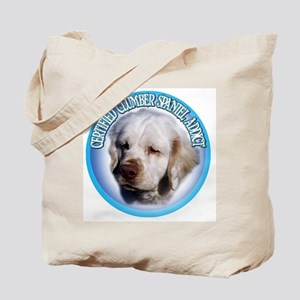 CLUMBER SPANIEL ADDICT Tote Bag