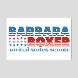Boxer for Senator Mini Poster Print