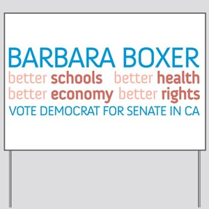 Boxer Better Yard Sign