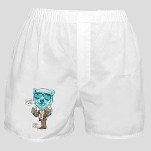 Beer Me Polar Bear Boxer Shorts