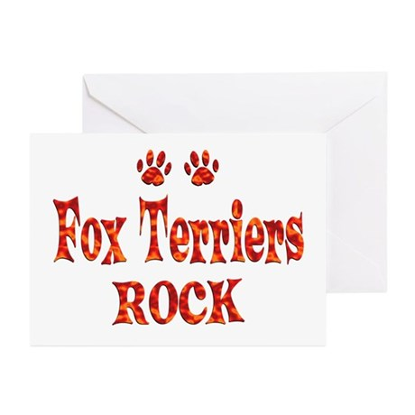 Fox Terrier Greeting Cards (Pk of 10)