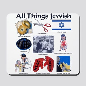 All Things Jewish Mousepad