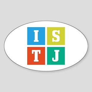 ISTJ Sticker (Oval)
