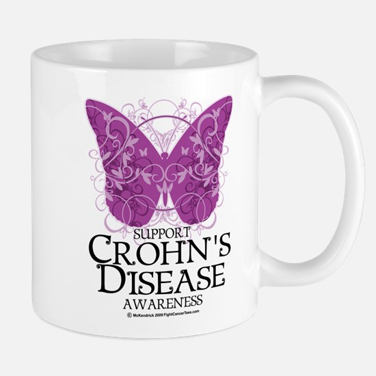 Crohn's Disease Butterfly Mug