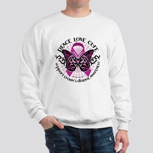 Crohn's Disease Tribal Butter Sweatshirt
